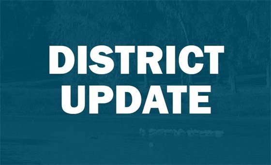 Banner image that reads District Update