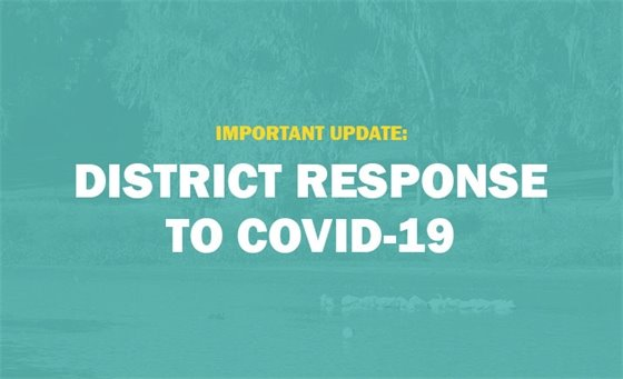 Important Update: District Response to COVID-19